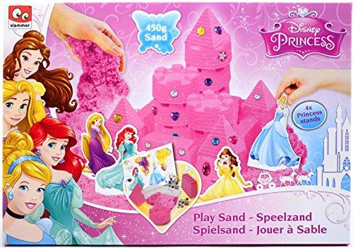 Disney Princess Play Sand Set for Kids - 1lb (450g) Pink Play Sand Box ...