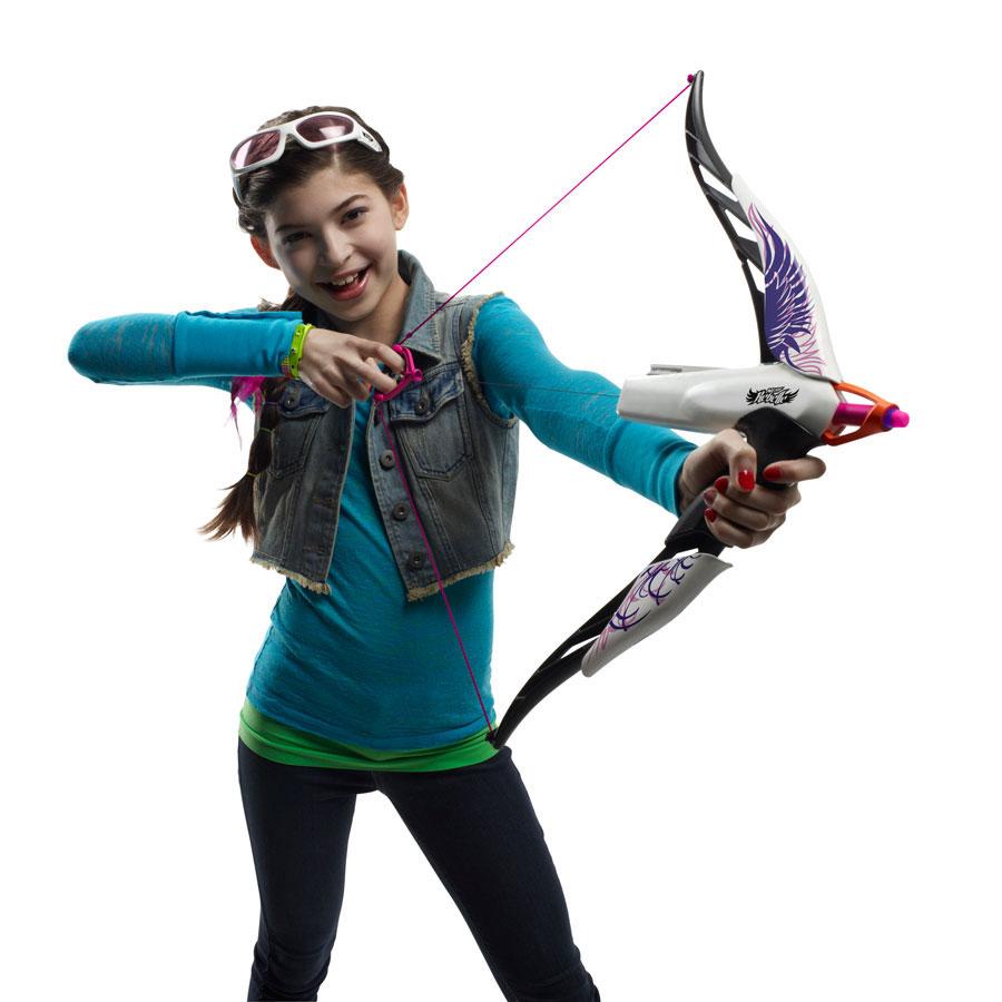 nerf rebelle heartbreaker bow phoenix blasters amp foam