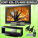 Sony Bravia L-Series KDL-37L4000 37-inch 720P LCD HDTV + Accessory Kit