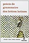 Pr�cis de grammaire des lettres latin...