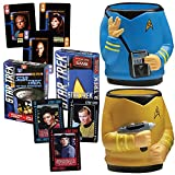 Trekkie Fans Star Trek Spock & Kirk Drink Koolers & Playing Card Games Set