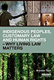 Indigenous Peoples, Customary Law and Human Rights - Why Living Law Matters (Routledge Studies in Law and Sustainable Development)