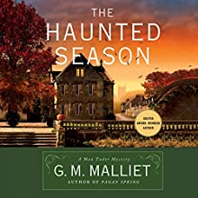 The Haunted Season: A Max Tudor Mystery (       UNABRIDGED) by G. M. Malliet Narrated by Michael Page