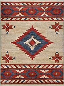nevita collection southwestern native american design area rug rugs geometric off. Black Bedroom Furniture Sets. Home Design Ideas