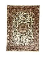 L'Eden del Tappeto Alfombra Kashmirian F/Seta Crudo / Marrón 243  x  173 cm