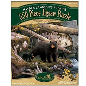 Reflective Art The Den Mother Jigsaw Puzzle, 550-Piece