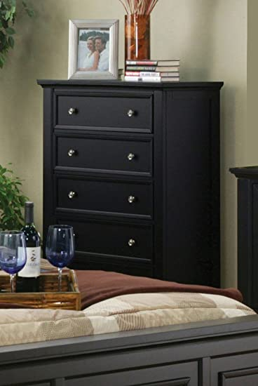 Sandy Black Chest By Coaster Furniture