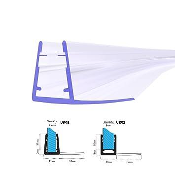 6 inches Outbit Bras de Douche Montage Mural en Acier Inoxydable pour Tuyau de Bras de Douche /à t/ête Ronde pour Plafond de Douche