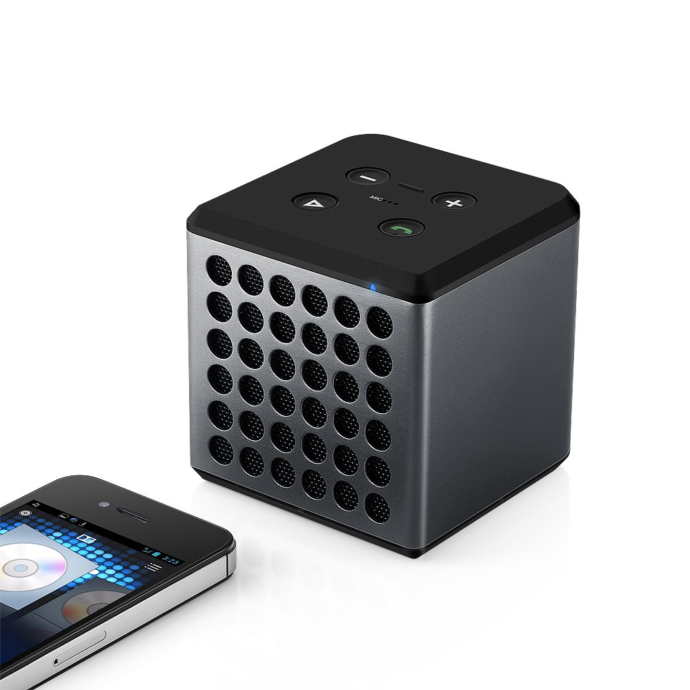 easyacc rechargeable enceinte bluetooth cube musique batterie lithium lecture ebay. Black Bedroom Furniture Sets. Home Design Ideas