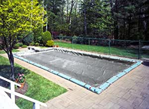 Platinum In Ground Winter Swimming Pool Cover With Water Tubes Fits Pool Size 30