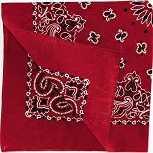 Red Bandana (8) Party Supplies
