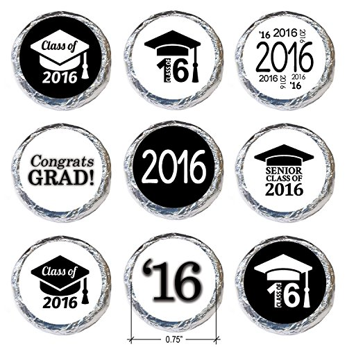 class of 2017 graduation party favor stickers set of 324 With kitchen colors with white cabinets with graduation stickers for envelopes