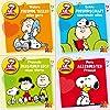 Mini-B�cher Peanuts 1-4 (4er Set)