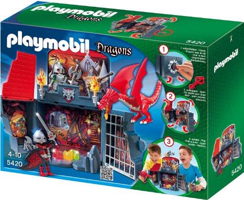 PLAYMOBIL 5420 - Aufklapp-Spiel-Box, Drachenverlies