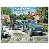 Land Rover Defender 110 Tin Sign