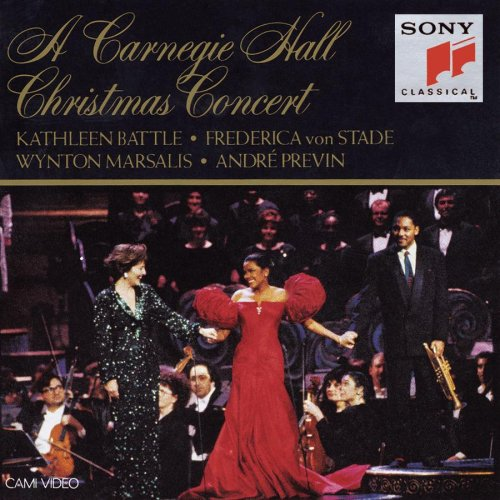 A Carnegie Hall Christmas Concert by Christmas Traditional, Jester Hairston, Pietro Yon, Wolfgang Amadeus Mozart and Richard Rodgers