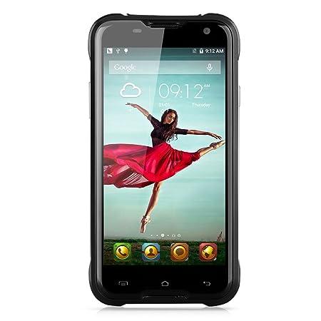 """Blackview BV5000 IP67 Smartphone Étanche Antipoussière Antichoc Robuste Drfy Android 5.1 OS Quad Core MTK6735P IPS Écran 5.0"""" 1.0 GHz 64 bits 2GB RAM 16GB ROM double caméras 5MP 13MP OTG"""