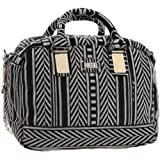 Diesel Wintry Flock Brave Art Small Bowling Bag