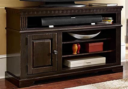 4-Shelf TV Console
