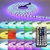 5m RGB LED Strip Leiste Streifen SMD Band Lichter Stripe Leuchte n Lichterkette
