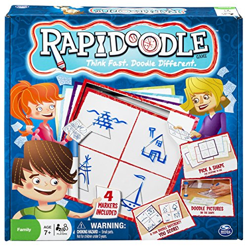 Spin Master Games - Rapidoodle Board Game - 1