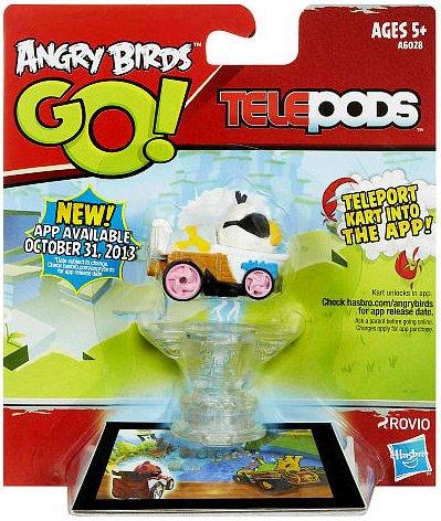 Angry Birds GO! Telepods Kart WHITE Bird - 1