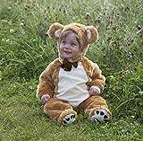 Baby - Disfraz de oso para bebé niño, talla 0 - 18 meses (Z12D)