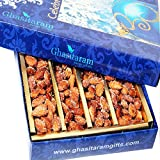 Ghasitaram Gifts Dryfruits Honey Coated ROASTED Almonds 400 Gms