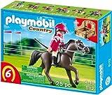 PLAYMOBIL 5112 - Araber mit braun-gelber Pferdebox
