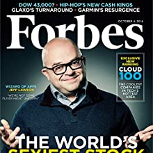 Forbes, October 4, 2016 Periodical by  Forbes Narrated by Daniel May