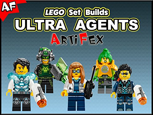 Clip: Lego Set Builds Ultra Agents - Season 1