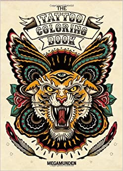 Tattoo Coloring Book: Oliver Munden, Jo Waterhouse: 9781780670119