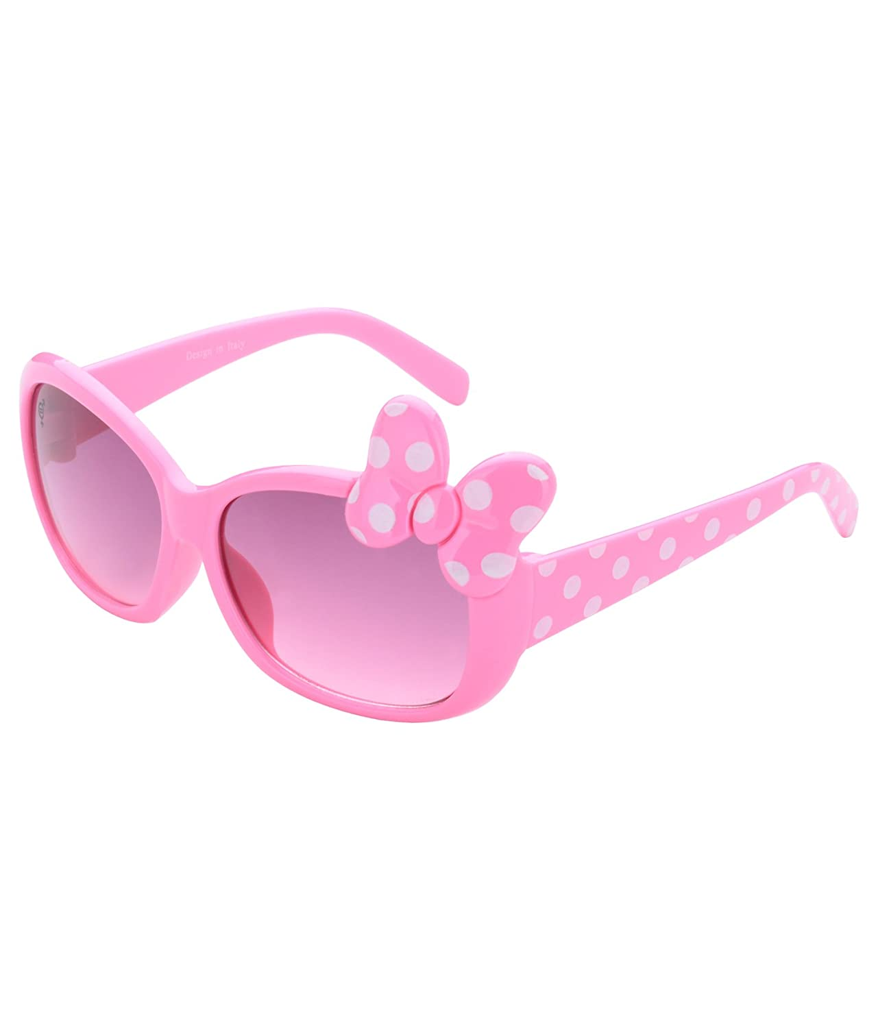 Deals on Uv Protected Butterfly 5 to 8 kids Girls Oval Sunglasses