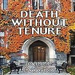Death without Tenure: A Karen Pelletier Mystery | Joanne Dobson
