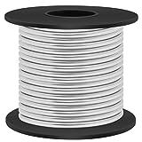 Aluminum Craft Wire 8 Gauge 12 Gauge 18 Gauge, Luxiv 1mm 2mm 3mm Silver Aluminum Wire for Crafting Wire Soft DIY Metal Craft Art Wire (Silver, 8gauge(3mm)) (Color: silver, Tamaño: 8gauge(3mm))
