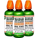 Dr. Katz TheraBreath Oral Rinse, 16-Ounce Bottle, Pack Of 3