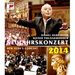 New Year`S Concert 2014 [Blu-ray]