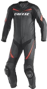 Dainese 1513424_777_44 t.rACING p. eSTIVA costume en blanc/noir/rouge