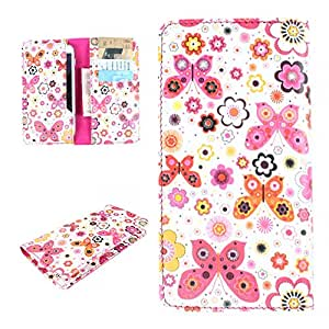 DooDa PU Leather Case Cover For Micromax Canvas Blaze HD EG116