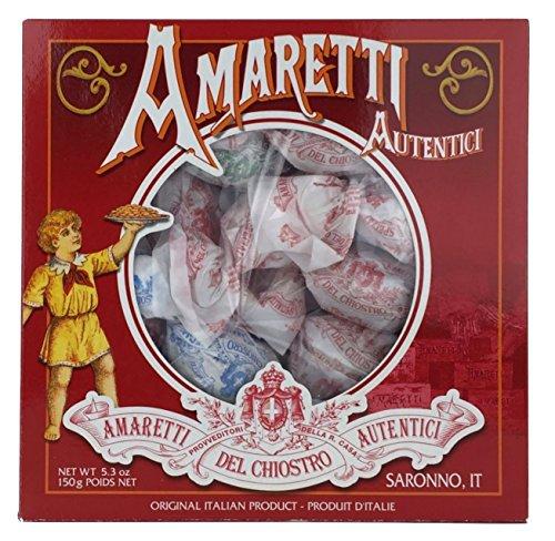 Amaretti Del Chiostro, Amaretti Di Saronno Crunchy Italian Cookies, 5.3 Ounce Window Box (Italian Amaretti compare prices)