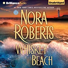 Whiskey Beach Audiobook by Nora Roberts Narrated by Luke Daniels