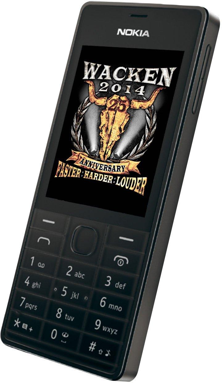 Nokia 515 WackenEdition Smartphone 2,4 Zoll schwarz  Kundenbewertung und weitere Informationen