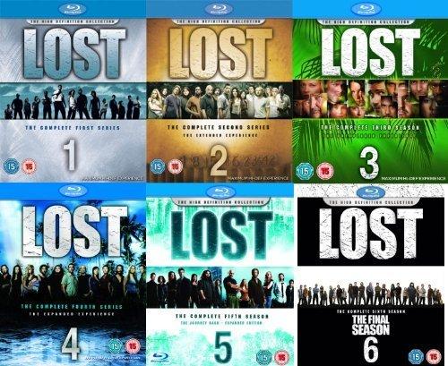 Lost The Complete Collection Seasons 1-6 1 2 3 4 5 6 (Blu-ray) {36 DISCS} [REGION FREE]