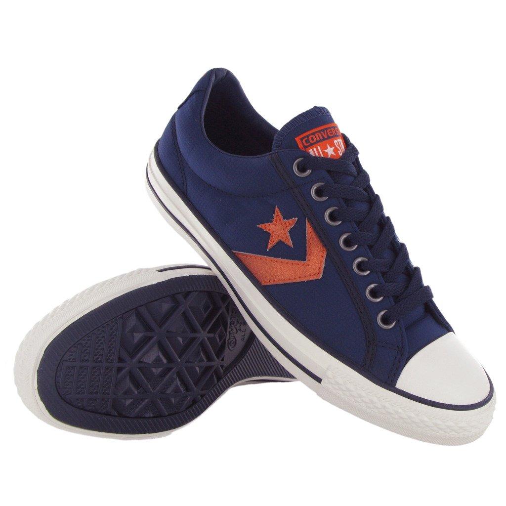 Converse Star Player EV OX Navy Blue Orange