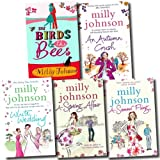 Milly Johnson Milly Johnson Collection 5 Books Set (White Wedding, An Autumn Crush, A Summer Fling, The Birds and the Bees, A Spring Affair)