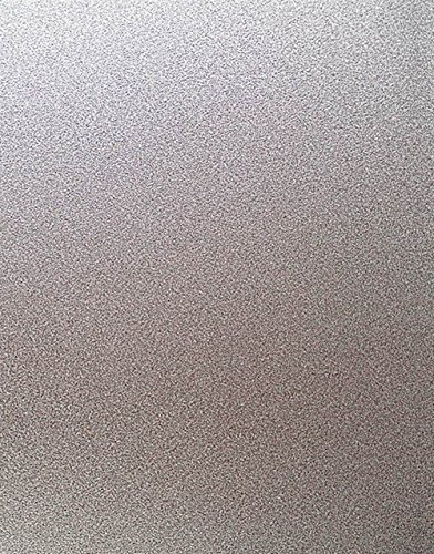 VEOLEY Frosted Privacy Window Films Etch Privacy Static Cling Fashion Window Film for Home Kitchen Office frosted glass vinyl ,17.7 by 78.7Inches (House Window Tint Roll compare prices)