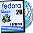 Fedora 20 Linux, 4-Discs DVD Installation And Reference Set