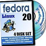 Fedora の20 、4 - ディスク、 DVDのインストールおよび基準設定