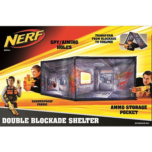 NERF Double Blockade Shelter  sc 1 st  Nerf War Games & Combat Shelter Archives - Nerf War Games