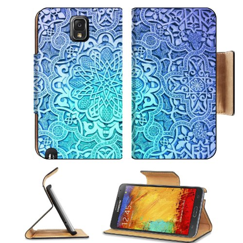 Pattern White Snowflake Crystal Samsung Galaxy Note 3 N9000 Flip Case Stand Magnetic Cover Open Ports Customized Made To Order Support Ready Premium Deluxe Pu Leather 5 15/16 Inch (150Mm) X 3 1/2 Inch (89Mm) X 9/16 Inch (14Mm) Liil Note Cover Professional